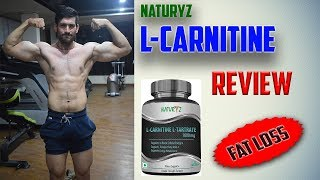 L-Carnitine Review |  Naturyz | Fatloss Supplement | HINDI | JST'S Fitness