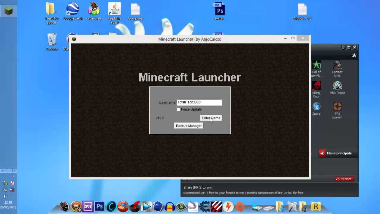 How to download free minecraft youtube.