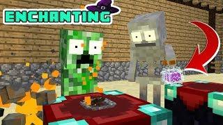 Monster School: Enchanting Challenge - Minecraft Animation