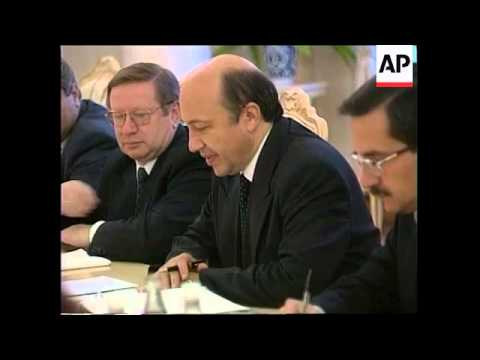 RUSSIA: MOSCOW: NATO MUST REBUILD YUGOSLAV ECONOMY