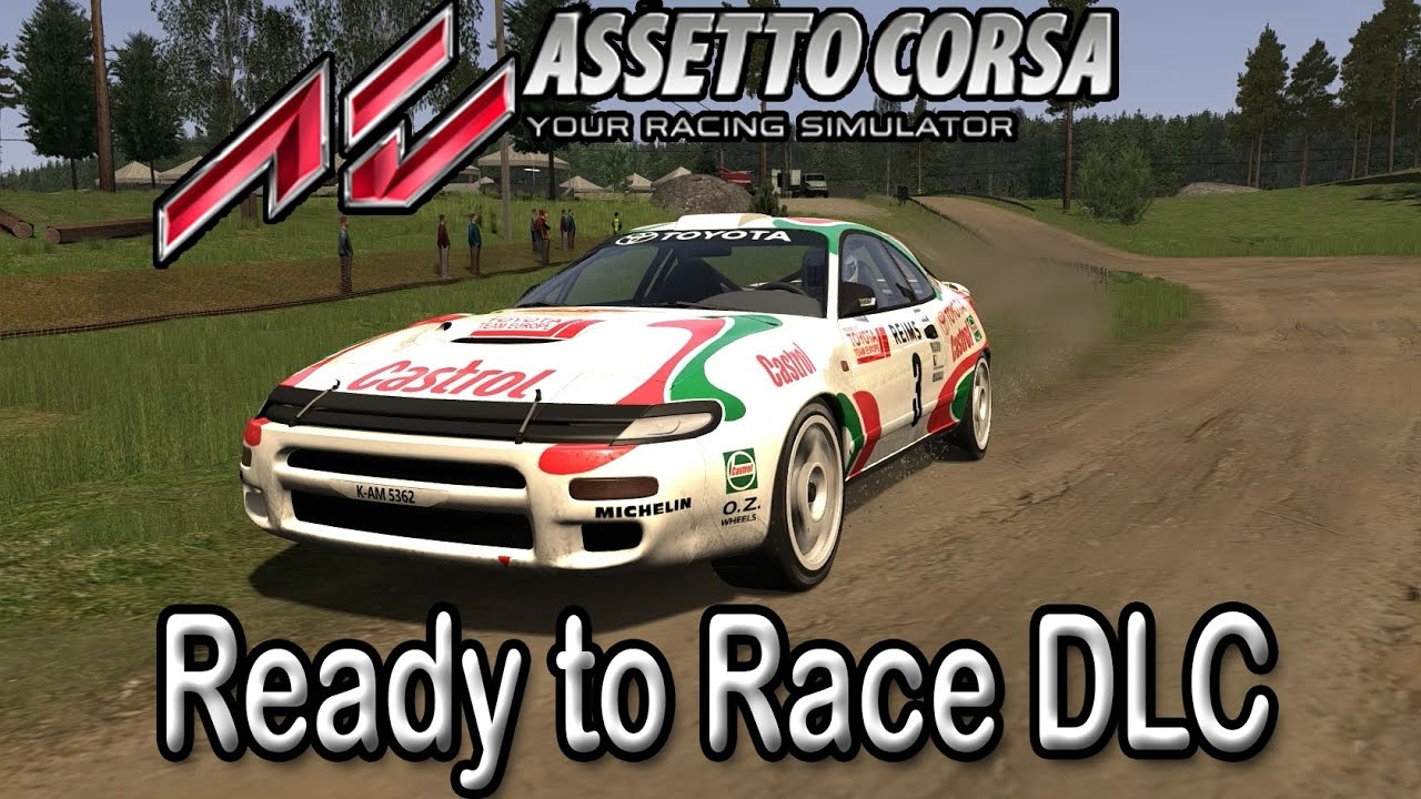 assetto corsa rtr dlc toyota celica youtube. Black Bedroom Furniture Sets. Home Design Ideas