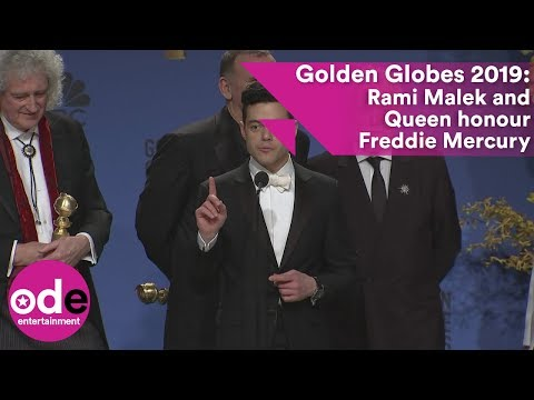Golden Globes 2019: Rami Malek and Queen honour Freddie Mercury