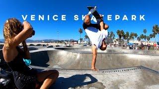 GoPro HERO6: Venice Skatepark in 4K w/ Justin Kalani Burbage