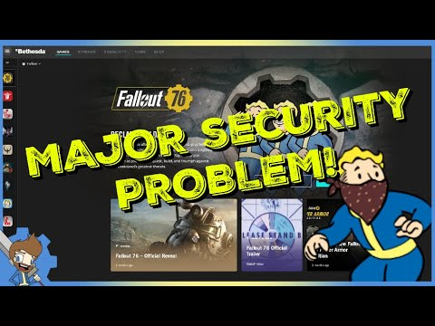 WTF?! MAJOR SECURITY PROBLEM WITH THE BETHESDA LAUNCHER!