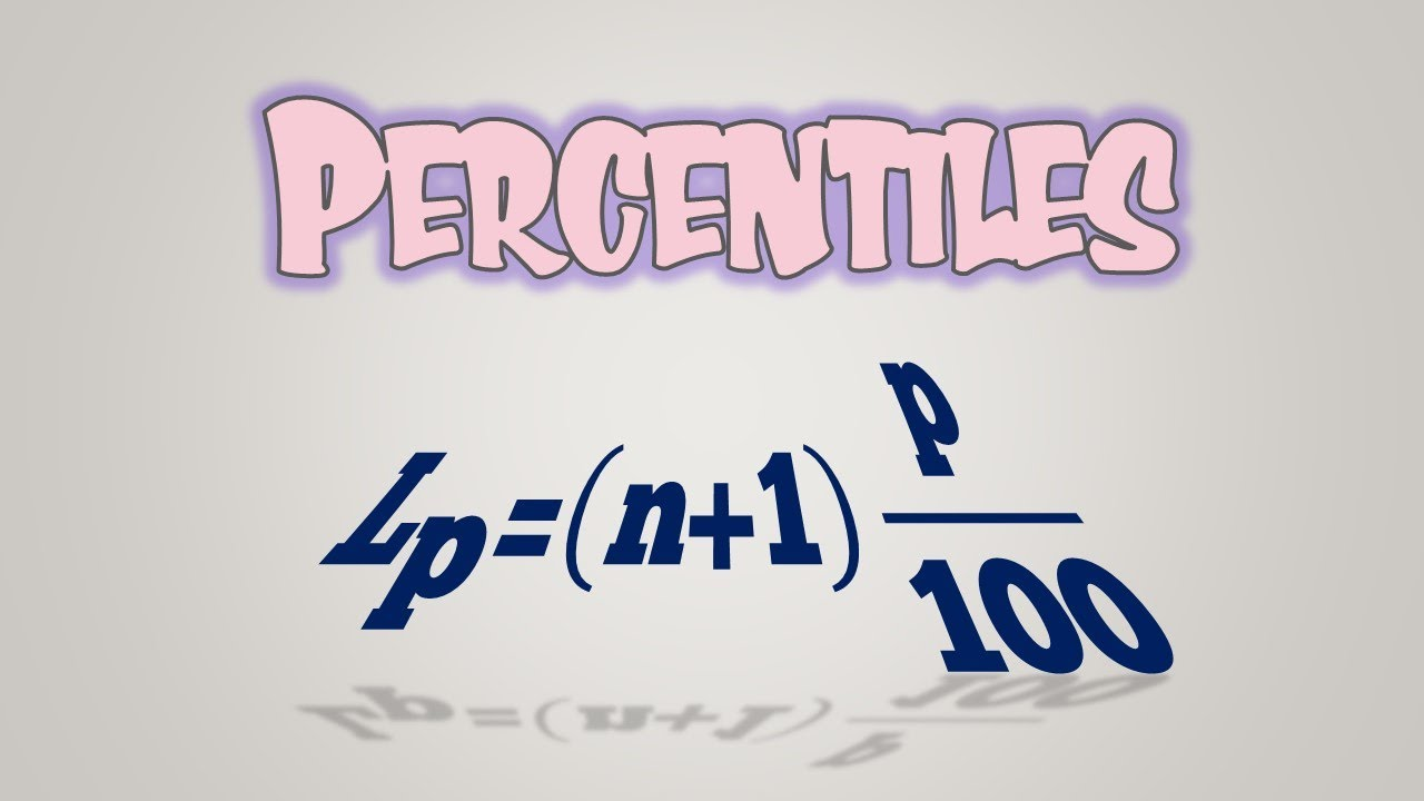 Percentiles - How to calculate Percentiles, Quartiles,