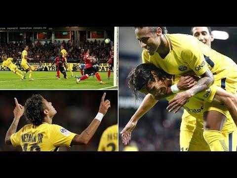 Download Neymar jr   All Magic Skills   Goals and Assists for PSG   2017-2018 April। Full HD