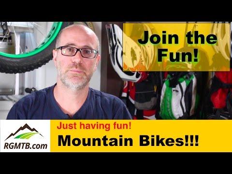 Regular Guy Mountain Biking Welcome Video - RGMTB - #BikeChat