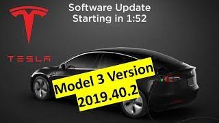 Tesla Model 3 Software Update Version 2019.40.2: Schnellerer Autopilot Spurwechsel & Wischer Update