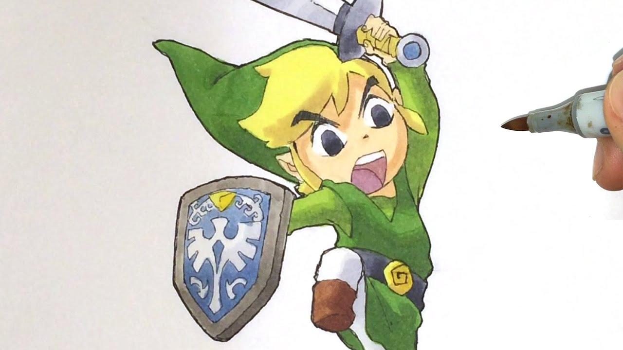 How to draw TOON LINK [Zelda] - YouTube