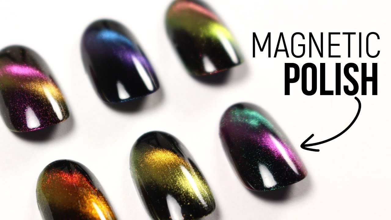 Testing Out Magnetic Polishes Felis Collection By Live Love Polish