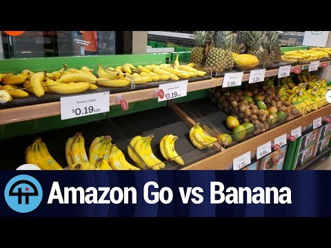 Trying to Trick Amazon Go With a Banana