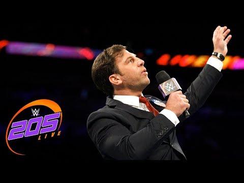 Drew Gulak gives an uninterrupted PowerPoint presentation: WWE 205 Live, Oct. 17, 2017