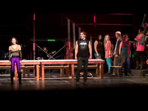 "HWHS - RENT school edition - ""La Vie Boheme"""