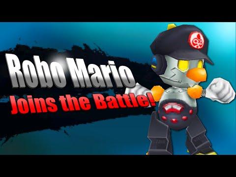 BRAWL HACKS/MODS: Robo Mario