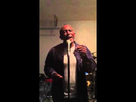 Jeff Hall (The drifters) with Charlie Thomas