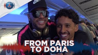 FROM PARIS TO DOHA with Neymar Jr