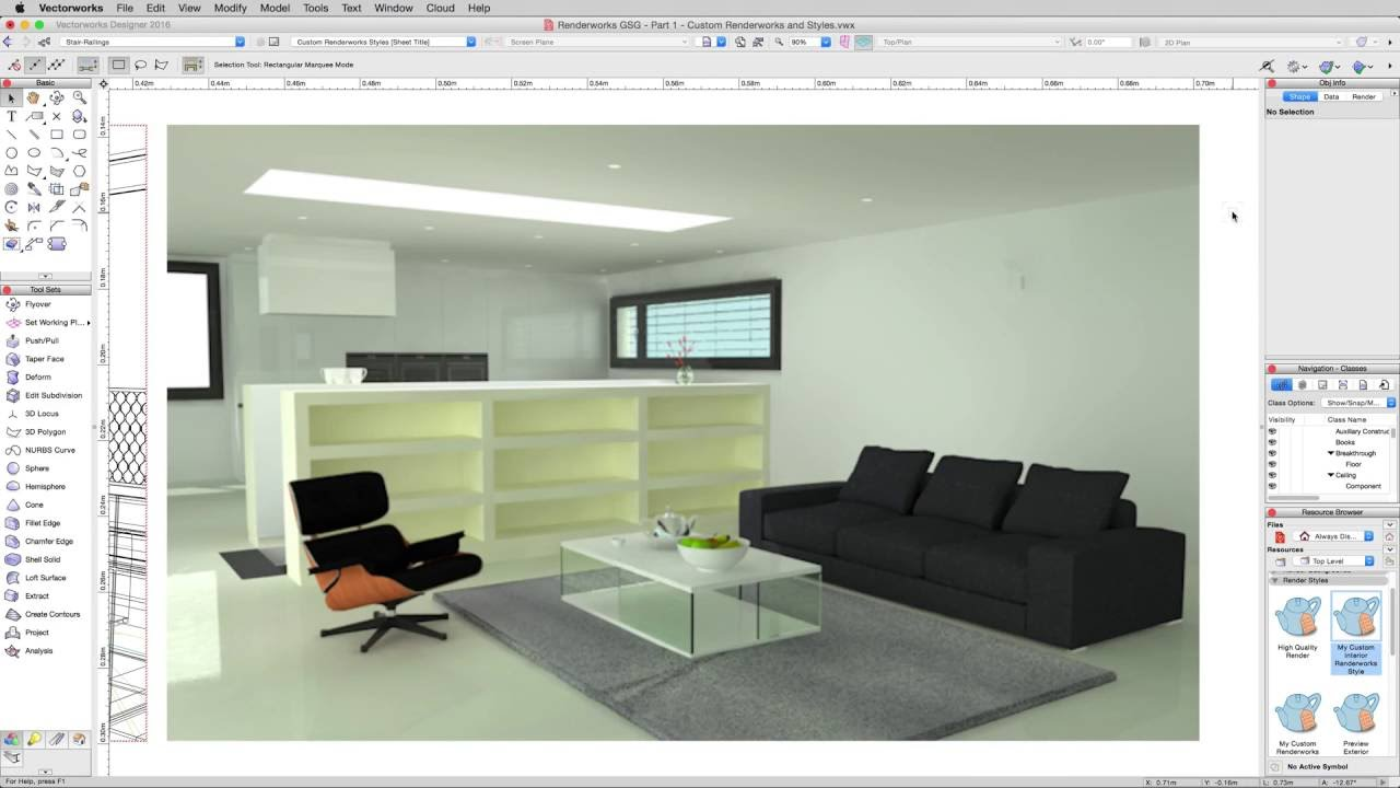 Rendering in vectorworks indirect lighting youtube
