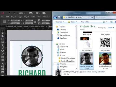 how to add pictures to indesign