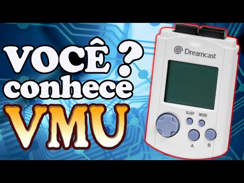 VMU do Dreamcast - Muito Mais que um MEMORY CARD!