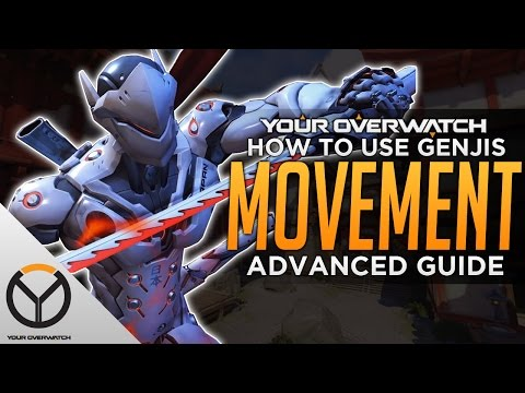 Overwatch Advanced Genji Guide: Movement & Positioning Tips