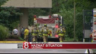 Chlorine spill prompts hazmat situation at Cromwell hotel, 1 sent to hospital