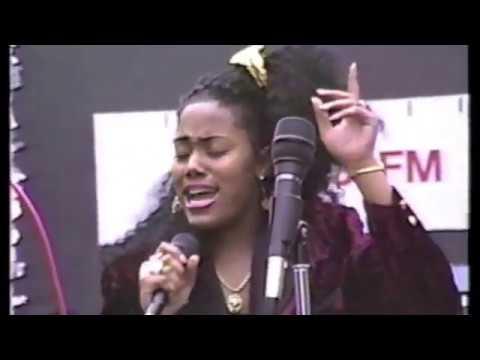 Nayobe Performs at Atlantic Antic Circa:1988