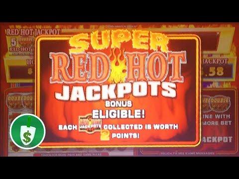 ⭐️ NEW - Double Sizzling 77777 slot machine, Super Red Hot Jackpots bonus