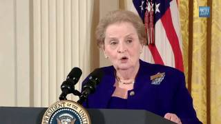 Madeleine Albright - Speech Commemorating International Women