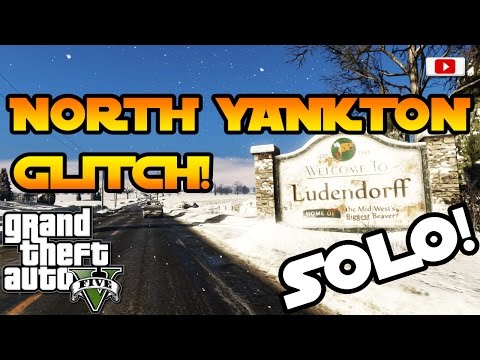GTA 5 Online - Nach North Yankton Kommen Glitch! [SOLO, Fun Glitch, PlayStation 4, Xbox One, PC]