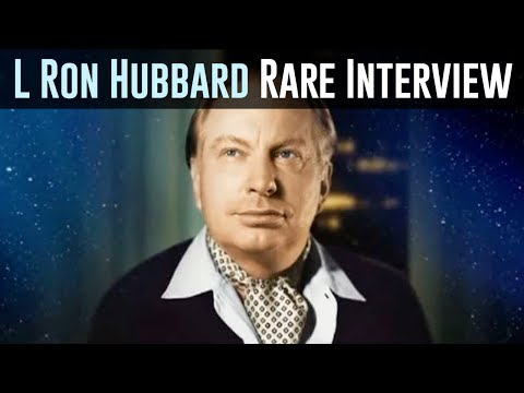 L Ron Hubbard Interview: Introduction To Scientology 1966