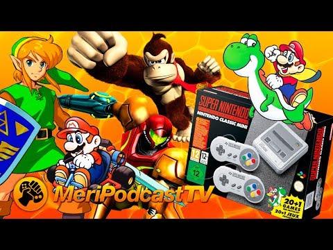 MeriPodcast TV 10x36: Snes Mini, juegos que nos marcaron y Fin de Temporada
