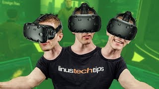 3 VR Gamers, 1 CPU ULTIMATE VR SETUP!
