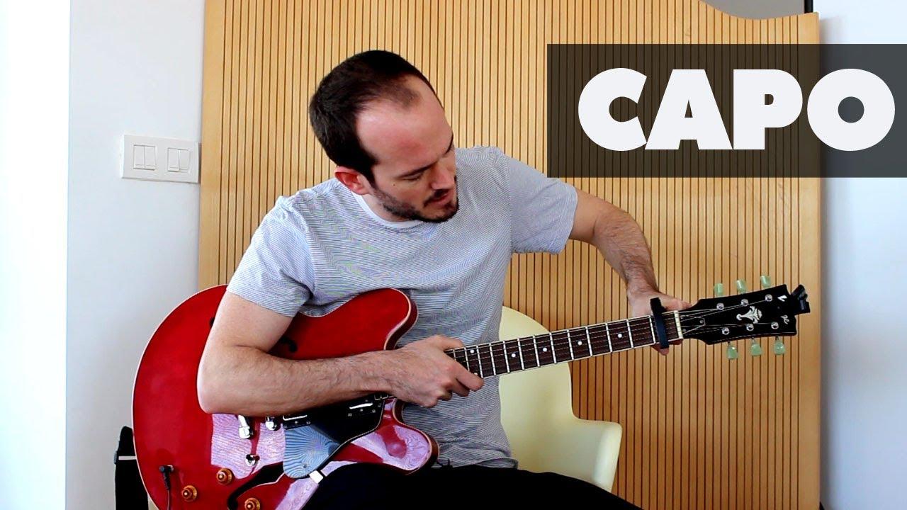 C mo usar un capo o cejilla guitarra y acordes - Como se pone el parquet ...