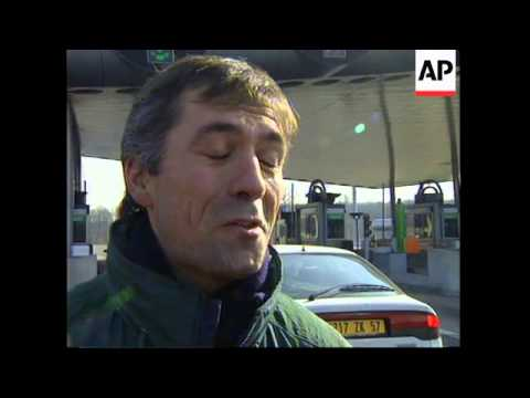 FRANCE: FARMERS PROTEST AGAINST EU FARM REFORMS