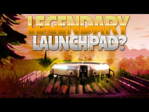 LEGENDARY JUMP PAD!? (Fortnite Battle Royale)