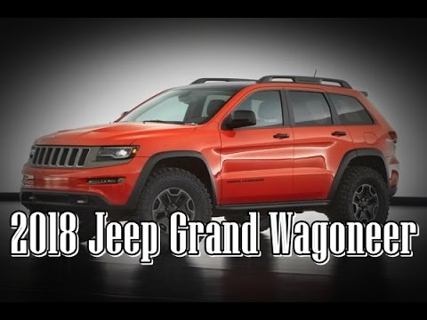 2018 jeep grand wagoneer concept interior and exterior. Black Bedroom Furniture Sets. Home Design Ideas