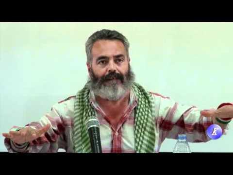 Juan M.Sanchez Gordillo en Guadajoz acto publico de IU