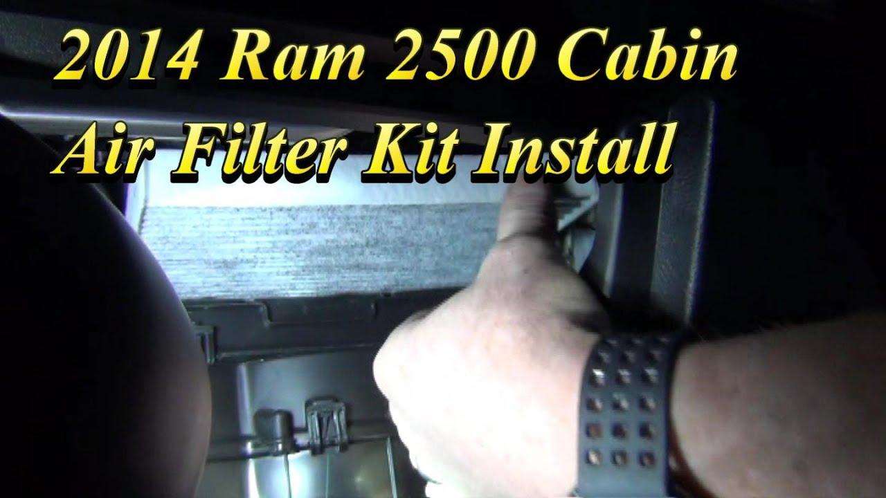 2014 ram 2500 cabin air filter location [ 1280 x 720 Pixel ]
