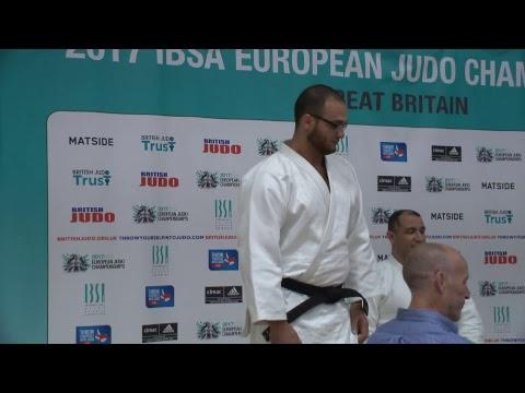 IBSA European Judo Championships 2017 Day 2 Mat 2.