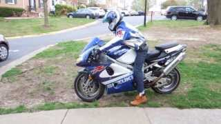 Suzuki TL 1000 R First Bike First Time Ride and BMW M6 (not racing)