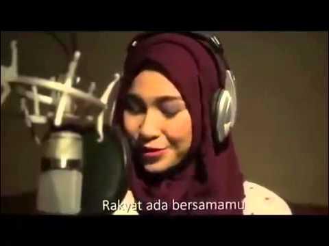 Musisi Cantik Putri Gubernur Aceh 'Rara Tarmizi' nyanyikan lagu Jokowi