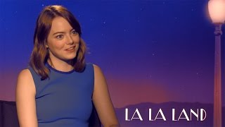 """La La Land"": Emma Stone Im Interview"