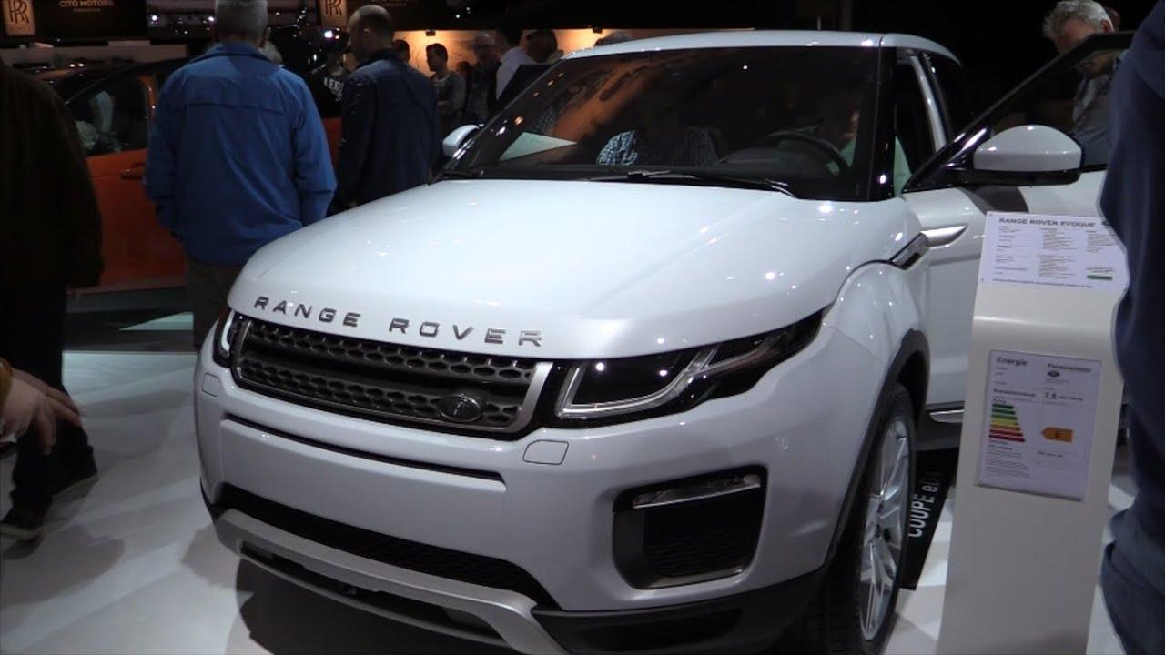land rover range rover evoque 2016 in depth review. Black Bedroom Furniture Sets. Home Design Ideas