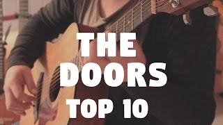 """The Doors """"TOP 10"""" on Fingerstyle by Fabio Lima"""