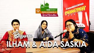 Ilham dan Aida Saskia Ngobrolin Single Religi, Puasa dan Lebaran