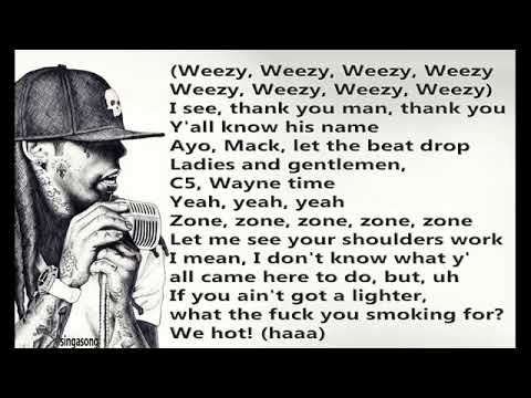Lil Wayne uproar lyrics 🔥🔥
