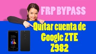How To Disable Bypass Google Account FRP ZTE Avid Plus - Travel Online