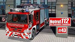 NOTRUF 112 #43: Straßensperrung wegen eines Unfalls! I Feuerwehr-Simulation