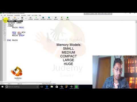 Assembly Language Programming - Program Structure  - emu8086   (বাংলা)   Judemy Bangla Tutorial thumbnail