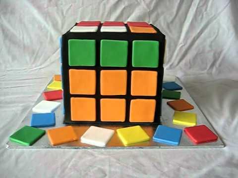 rubiks cube cake youtube